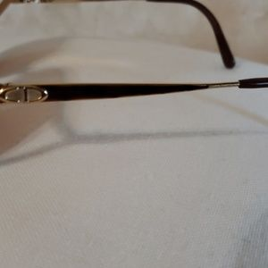 christian dior Accessories - Christian Dior gold frames.  2387 44  55 16 120